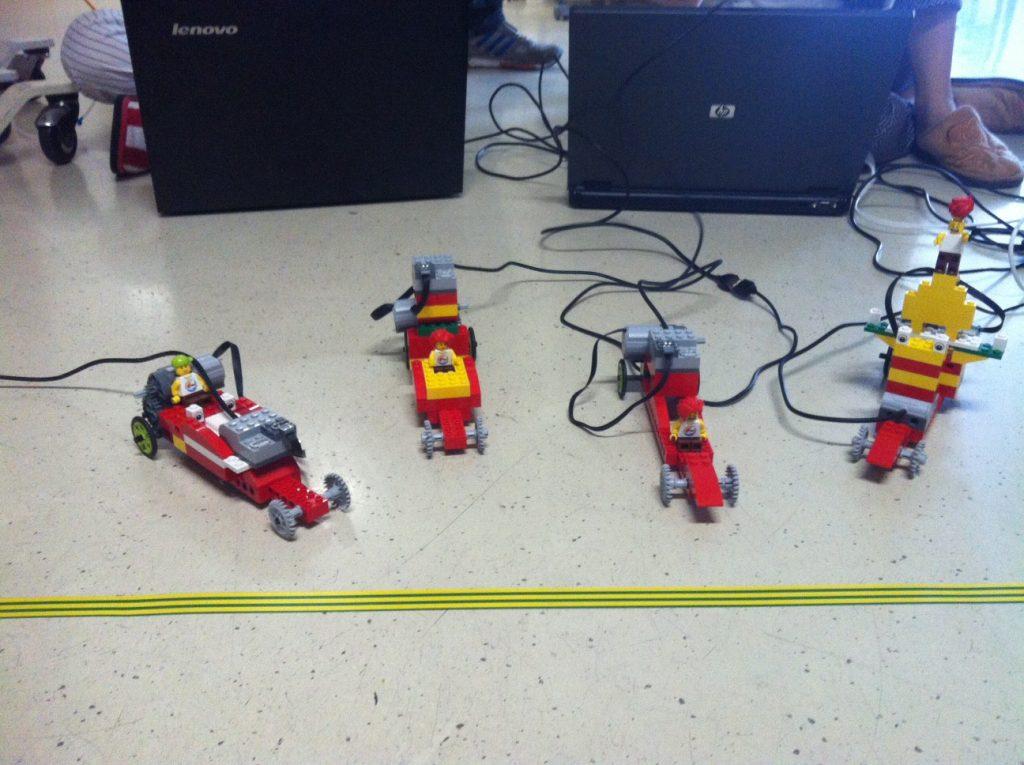 Taller de programación de vehículos de LEGO