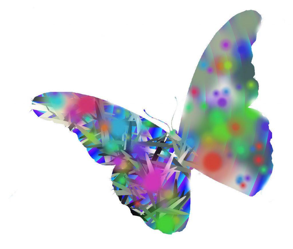 mariposa abstracta malka
