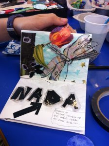 Libros de Artista, una actividad realizada en el Aula Hospitalaria del Hospital La Paz