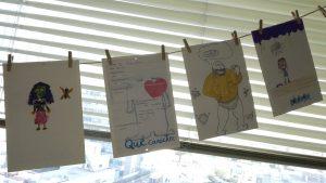 Imagen de los personajes creados en el taller de creación de personajes